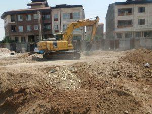 مهندس عظیمی تخریب ساختمان-خاکبرداری-گودبرداری-نیلینگ-سازه نگهبان